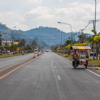 Main road in Khao Lak – Phang-nga